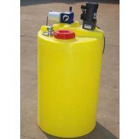 佛山厂家直销PE桶加药箱搅拌桶环保水处理专用加药装置1500L