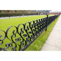 定制铁艺护栏 洋房小区配套防护栏 铸钢全防护栏杆