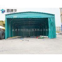 廊坊市文安县订制伸缩式帐篷 布 遮雨建工雨棚厂家