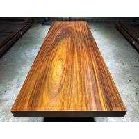 厂家直销实木大板茶桌250长83宽 奥坎鸡翅木红花梨黑檀胡桃木简约现代