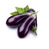 批发 紫色茄子种子白色 茄子种子适合阳台 菜园种植 30粒/袋