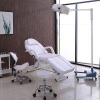 折叠美容床美容院专用多功能纹身纹绣美体床升降按摩微整形注射椅