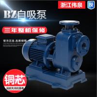广州浙江伟泉BZ自吸泵卧式管道离心泵380v大流量高扬程抽水泵三相循环