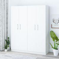 出租房简易布衣柜木质简约现代经济型卧室柜子组装板式衣橱省空间