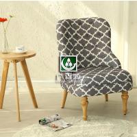 北欧单双人布艺沙发定做 仿真皮咖啡厅 公寓沙发椅子定做厂家