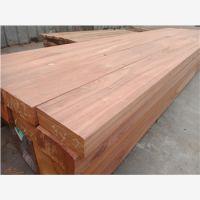 成都红梢木栏杆防腐木刨光加工厂家
