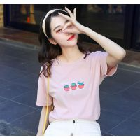 市场上韩版5元的T恤棉短袖去哪里进货的东莞厂家直销的街头潮人搭配的地摊甩卖货源短袖