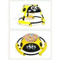 婴儿学步车宝宝滑行助步车6/7-18个月宝宝防侧翻多功能儿童学步车