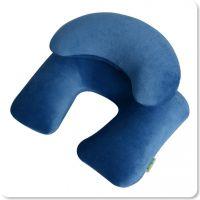 wellhouse 天鹅绒子母充气枕 旅行枕/U型枕 飞机枕 护颈枕
