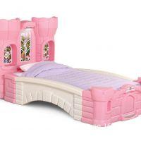 美国Step2原装进口儿童玩具过家家儿童家具儿童床梦幻 城堡公主床