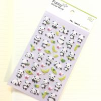 Funny DIY贴纸 布艺装饰贴纸 熊猫 毛毡贴纸