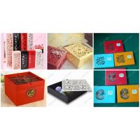 纸盒激光雕花机-礼盒镂空图案激光雕刻精美细腻增加产品附加值