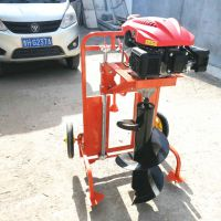 便携式汽油打眼机园林绿化汽油挖坑机植树挖坑机【图】