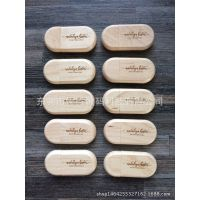 厂家批发 迷你形内存卡 创意礼品精致木质u盘 竹质存储器 定制