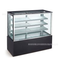直角日式保鲜冷藏展示柜蛋糕展示柜风冷保鲜柜西点水果甜品冷藏柜