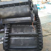牡丹江挡边皮带机 耐用养殖厂饲料输送机