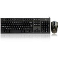 得力3710 有线USB鼠标+键盘套装 静音设计 得力键盘 办公家用