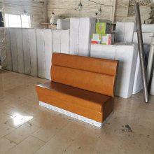 港式餐饮店沙发定做,烧腊餐厅休闲家具加工厂