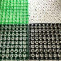 厂家直销20高排蓄水板 透气 蓄水 高抗压 黑色20mm蓄排水板