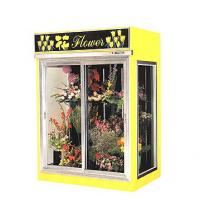 灯箱鲜花柜,风冷鲜花展示柜,定做鲜花保鲜柜,花店冷藏展示柜