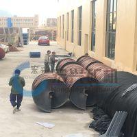 江西宏兴选矿螺旋溜槽 玻璃钢螺旋溜槽生产厂家 溜槽选矿设备