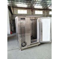 定制加强款单门20盘零下45度食品速冻机速冻柜 风冷式卧式