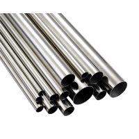 厂家316L不锈钢圆管,表面抛光,可做拉丝镀色处理。