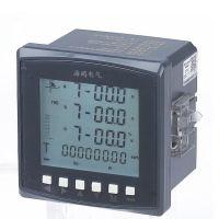 液晶多功能电力仪表三相电流电压功率频率电能表带485通讯