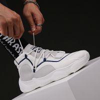 椰子同款ins超火男鞋运动鞋透气百搭高帮板鞋韩版潮流网布增高鞋