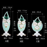 新中式现代简约花瓶摆件餐桌鞋柜客厅装饰品花插玄关酒柜装饰摆件