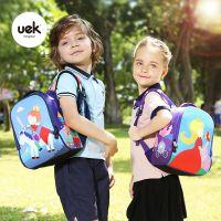 UEK公主王子书包小学生男女童1-3岁幼儿园双肩背包