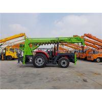 拖拉机吊车 拖拉机钻孔立杆一体机/建筑工程电网改造拖拉机吊车