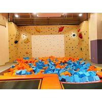青岛大型淘气堡室内游乐园 木质儿童滑梯 电动淘气堡