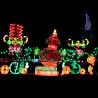 大型元宵节日花灯厂家春节灯会彩灯设计制作公司