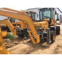 厂家直销两头忙挖掘装载机 多功能挖掘装载机 前铲后挖一体机