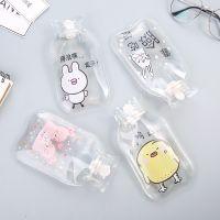 注水热水袋秋冬透明PVC水果暖手宝家用新款多功能卡通动物暖水袋
