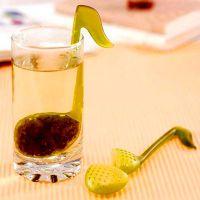 创意家居 音符茶匙 音乐茶匙音符泡茶器 泡茶伴侣茶用具天鹅 茶匙