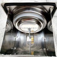 高密闭不锈钢射流烟道防火止回阀,厨房排烟道阻火阀