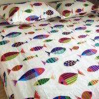 纯棉老粗布床单加厚帆布单人双人加密亚麻全棉布1.8米床1.5m2米床