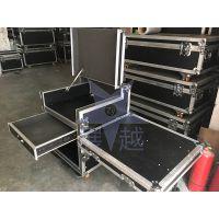 展越专业定做12U16U航空箱机柜功放航空箱音响箱调音台架子舞台设备柜
