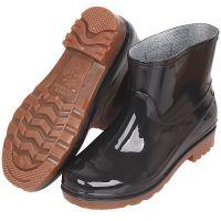 -男士劳保雨鞋 厂家直销男工地雨鞋 防滑低筒牛筋底雨靴加绒