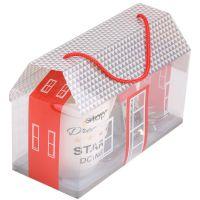 厂家直销2018新款手提假花包装盒印刷pvc胶盒仿真花透明pet礼品盒