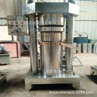 结实耐用不锈钢芝麻香油机 立式电动液压榨油机 大型芝麻压油机