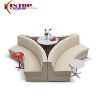 简约创意组合圆弧个性待客沙发 商务接待洽谈设计师办公沙发