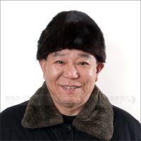 冬天 男士进口水貂帽子皮草帽子 地主帽 老人帽子 冬季送老爸