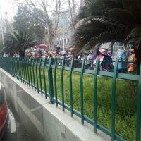 景区草坪护栏 市政护栏厂家 铁艺绿化围栏