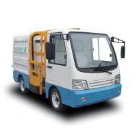 厂家直销侧挂式垃圾清运车-YD4QY2000B1四轮侧挂式垃圾清运车