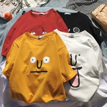 广东广州女装批发市场新款短袖T恤厂家直销时尚韩版纯棉T恤女装半截袖