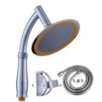 手持不锈钢淋雨喷头6英寸增压花洒顶喷头莲蓬头淋浴喷头通用4分口