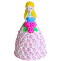 批发摔不坏涂鸦石膏白胚DIY彩绘陶瓷白模公仔石膏娃娃彩绘娃娃